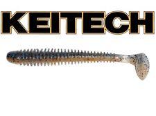 """Keitech 3,5""""-9cm (2pcs)Swing Impact,Squid Scent perch,pike,drop shot,texas,jig"""