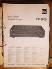 Service Manual  Dual CP 3700 Surround Processor,ORIGIN