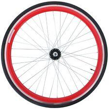 28 Zoll 700C Viking Hinterrad Fixie Singlespeed Hochflansch Fixed Gear Wheel