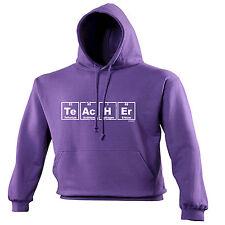 Teacher Periodic Table Design HOODIE hood cute geek nerd chemistry funny gift