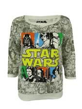 Star Wars Junior's 3/4 Sleeve Graphic Top