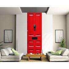 Papier peint Lé unique Porte rouge 2006