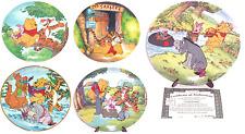 Disney Winnie the Pooh Eeyore Tigger Piglet Collector Plate Bradford Exchange