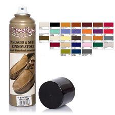 Camoscina Rinnova Colore per Scarpe in Camoscio e Nabuk - Prestige