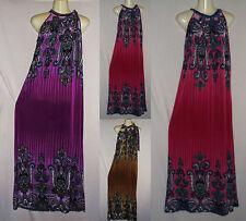 Women's Sundress Summer Dress 1X 2X 3X Long Maxi Plus Size Paisley