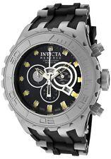 Swiss Invicta 0801 Reserve Subaqua Specialty Chronograph Watch, 3-Slot Dive Case