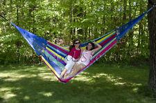 New Nylon Family Mexican Hammock | Large Breezy Point® Mayan Hammocks Handwoven