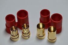 Super Duty Turnigy / HXT 8MM Bullet Connector Plug & Housing Set for Lipo ESC