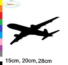 Flugzeug Aufkleber Auto und Wandtattoo Boing Airbus Linienflugmaschiene 153/1