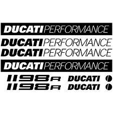 MAXI KIT DUCATI PERFORMANCE 1198R Stickers Autocollants Adhésifs Moto Qualité