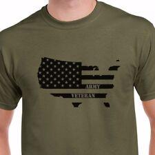 NEW Army Veteran T-Shirt NAVY USAF USMC Tee Veterans Day U.S. Military T Shirt