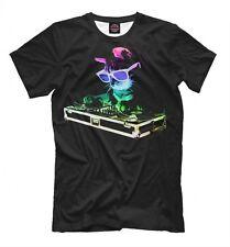 Dj cat tee - music EDM t-shirt acid cat t-shirt cool print
