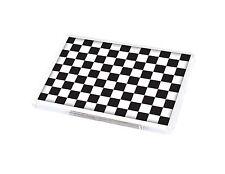 CHEQUERED FLAG- RACING BLACK & WHITE Fridge Magnet Novelty Gift