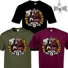 PARIS VIOLENCE - 25 Years T-Shirt Neu S-3XL Skinhead Oi Punk Cock Sparrer 4 Skin