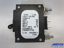 AIRPAX IMLK1-1RLS5R-31635-8 CIRCUIT BREAKER, AMPS- 50, MAX V - 65, DELAY - 52