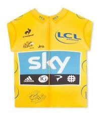 Bradley Wiggins Signed Tour de France Shirt Sky Replica Memorabilia With COA