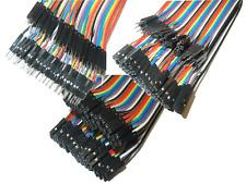 40 x steckbrücken hembra-lápiz-Female-Male breadboard Arduino