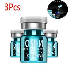 3 Pcs Blue NANO Liquid Glass Screen Protector Oleophobic Coating Film Universal
