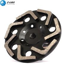 "6"" Diamond Grinding Wheel Cup L Segment for Grinding Concrete Floor Grinders M14"