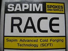 SAPIM Race Speichen, double butted, 2-1,8-2mm, 175 - 308mm Wunschlänge, silber