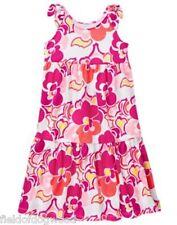NWT Gymboree Mix N Match Pink Floral  Maxi Dress 5 6 7 8 Girl