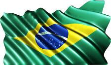 Sticker autocollant drapeau Brésilien