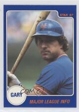 1987 Star #8 Gary Carter New York Mets Baseball Card