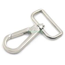 """1.5"""" Swivel Clip Snap Hooks Trigger Webbing Purse Handbags Shoulder Buckles 38mm"""