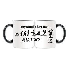 Personalised Gift Aikido Mug Money Box Cup Japan Aikidoka Kung Fu Evolution name