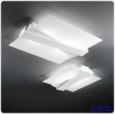 ZIGZAG LAMPADA DA SOFFITTO PLAFONIERA MODERNA DI DESIGN 3 MISURE E COLORI A LED