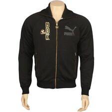 $100 Puma Big Daddy K Yo! MTV Raps black gold Track fashion Jacket