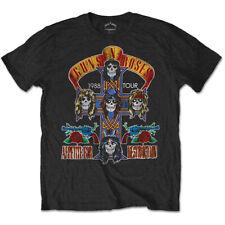 Guns n Roses Appetite for Destruction Tour 1988 Licensed Tee T-Shirt Men
