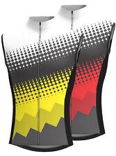 dhera hombre sin mangas Maillot de ciclismo transpirable Camiseta Ciclismo