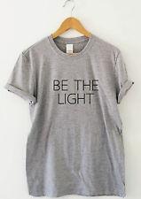 Sea la luz impresionante viajando Camiseta Camiseta Top Festival Regalo Motivacionales