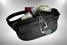 Money Belt - Anti-Theft Travel Safe Wire Enforced Money Belt Waist Bag Bum Bag