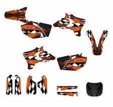 2003 2004 2005 YZ250F YZ450F Graphics decal sticker kit #3500-Orange