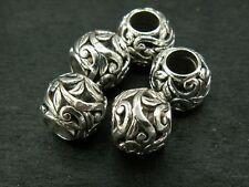 KUS 1 Gold Klangkugel für Anhänger// Käfig Beads Perlen 12mm