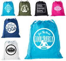Mini Yoga Bags Drawstring Yoga Bag organizers for Yoga Socks & Yoga Clothes