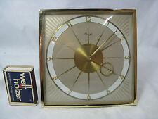 Beautiful Heinrich Möller Design Kienzle table clock / Sehr schöne Tisch Uhr