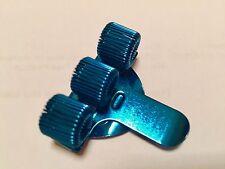 Metal Pen Holder + Pocket Clip- Three Hole - Nurse - Police - BLUE - Buy 1-10