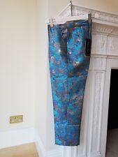 ISABEL Garcia Mujer Turquesa-Oro Multicolor Pantalones