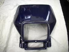 APRILIA RX50 ( 98 / 02 ) Lampenmaske / Frontmaske blau Scheinwerferverkleidung