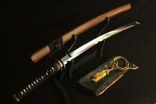 Japanese Handmade Folded Clay Tempered Samurai Sword Rosewood Musashi Katana