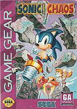 Sonic Chaos (Sega Game Gear, 1993) CART ONLY