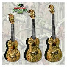 Mossy Oak Eddy Finn Acoustic Ukuleles