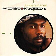 "WINSTON REEDY everyday i write the book P 14 uk priority 1986 7"" PS EX/EX"