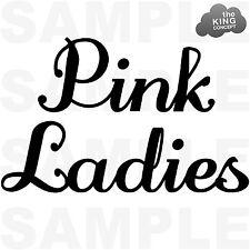 Pink Damen aufbügel T-Shirt Transferdruck Fett Film-jacke Sandy