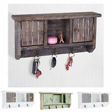 Schlüsselbrett HWC-A48, Schlüsselkasten Schlüsselboard mit Türen