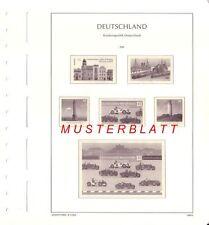Leuchtturm Vordruckblätter Nachtrag 2013  Deutschland Schweiz Österreich UNO FL
