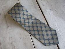 Giorgio Armani Tie Italy Mens Silk #123 Cravatte Dark Green Brushed Gold Center